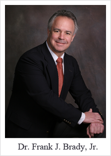 Picture:  Dr. Frank J. Brady, Jr - Board Certified Podiatrist -Surgery